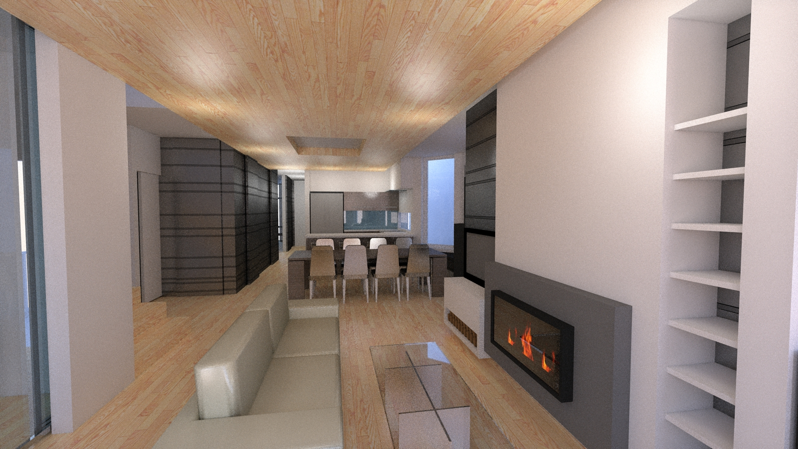 2 Point Perspective - Andersonville Residence (Living Room).jpg