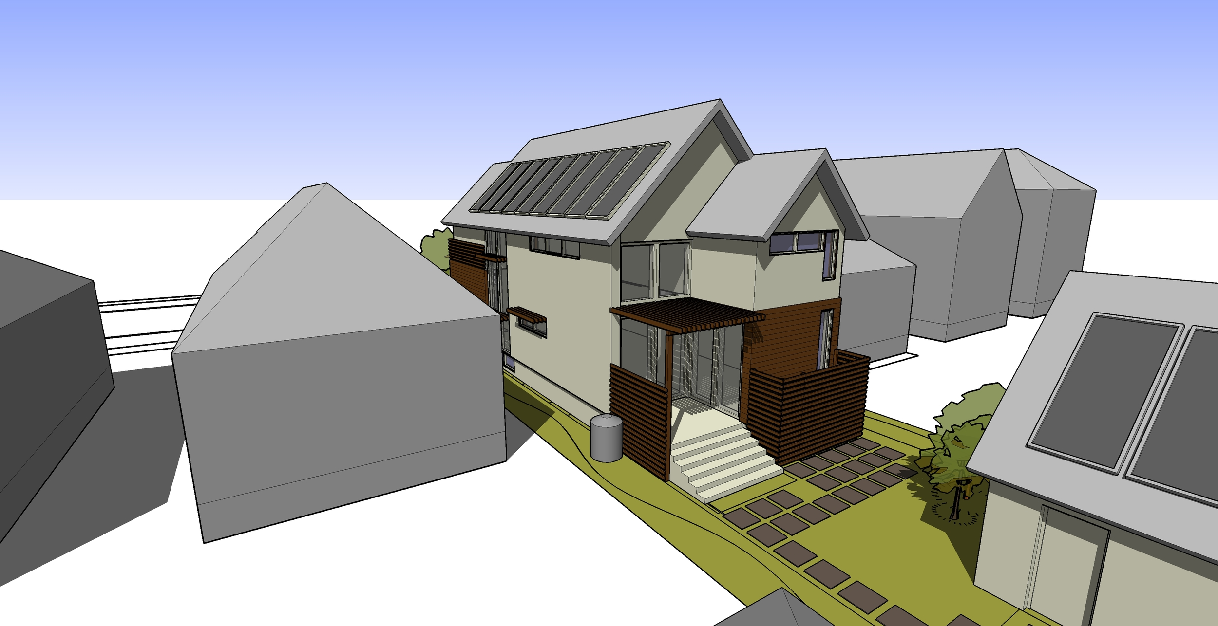 2 Point Perspective - Oak Park Zero Energy Home (Sketch).jpg
