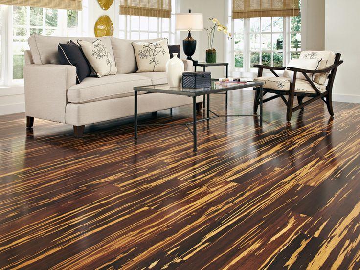 Cork , textured-looking living room