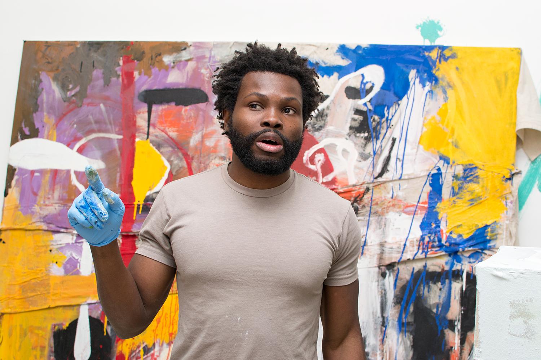 Adetomiwa Gbadebo in Studio