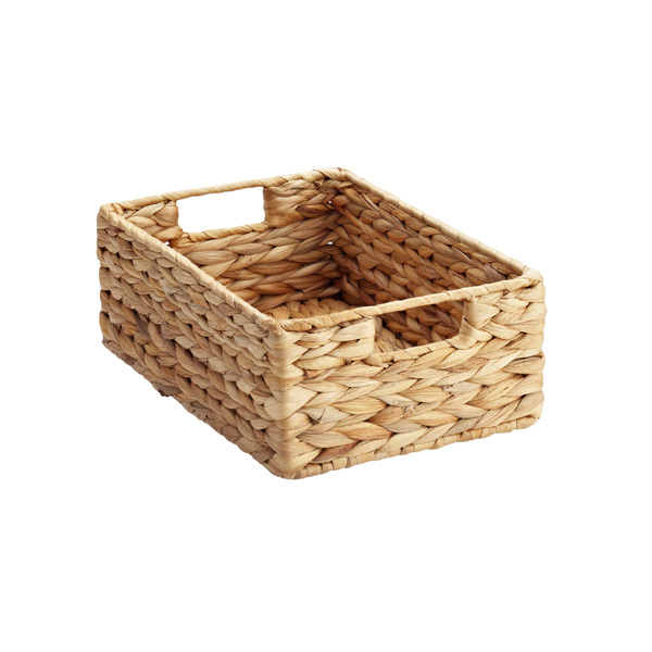 little baskets can hold small groupings of seasonings... maybe all your italian or asian oils and vinegars. This basket is from The Container Store