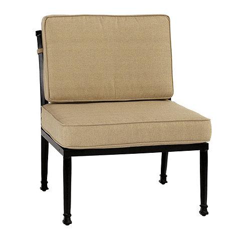 Amalfi armless chair