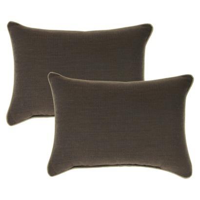 Target Smith & Hawken 2 piece lumbar pillow set