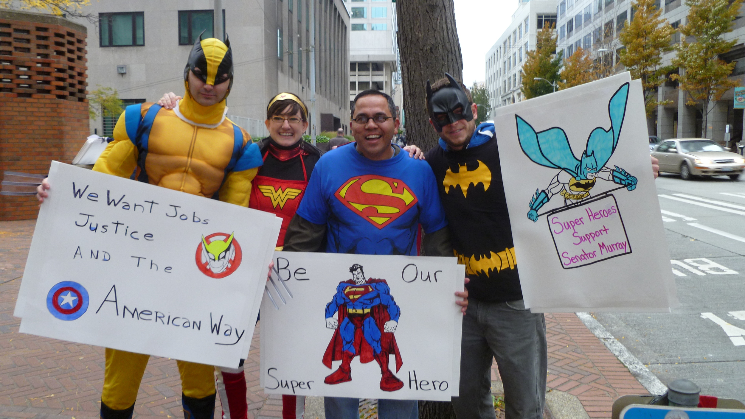Superhero Patty Murray Action