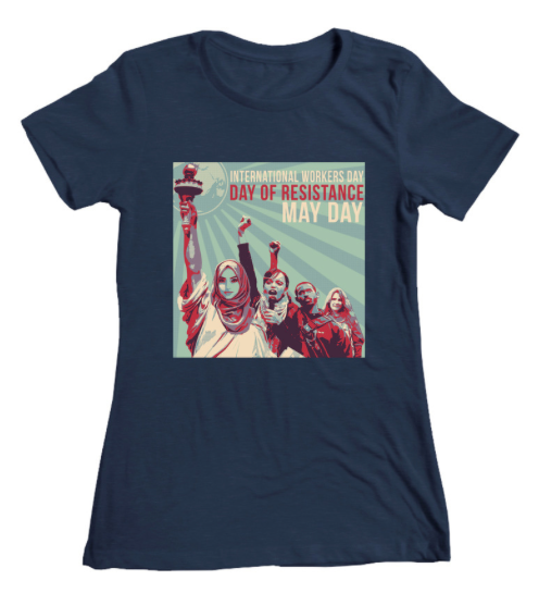 Get your May Day T-shirt! -
