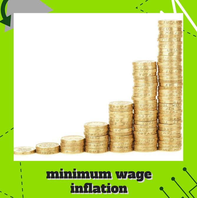 Minimum Wage Inflation     It's time for the minimum wage to keep up with the rest of the economy. One congressmember wants to make that happen.