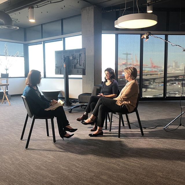It's our Executive Director Rachel Lauter with leader Stacia Jenkins taking about restoring overtime rights on KING 5 Seattle! #ourtimecounts