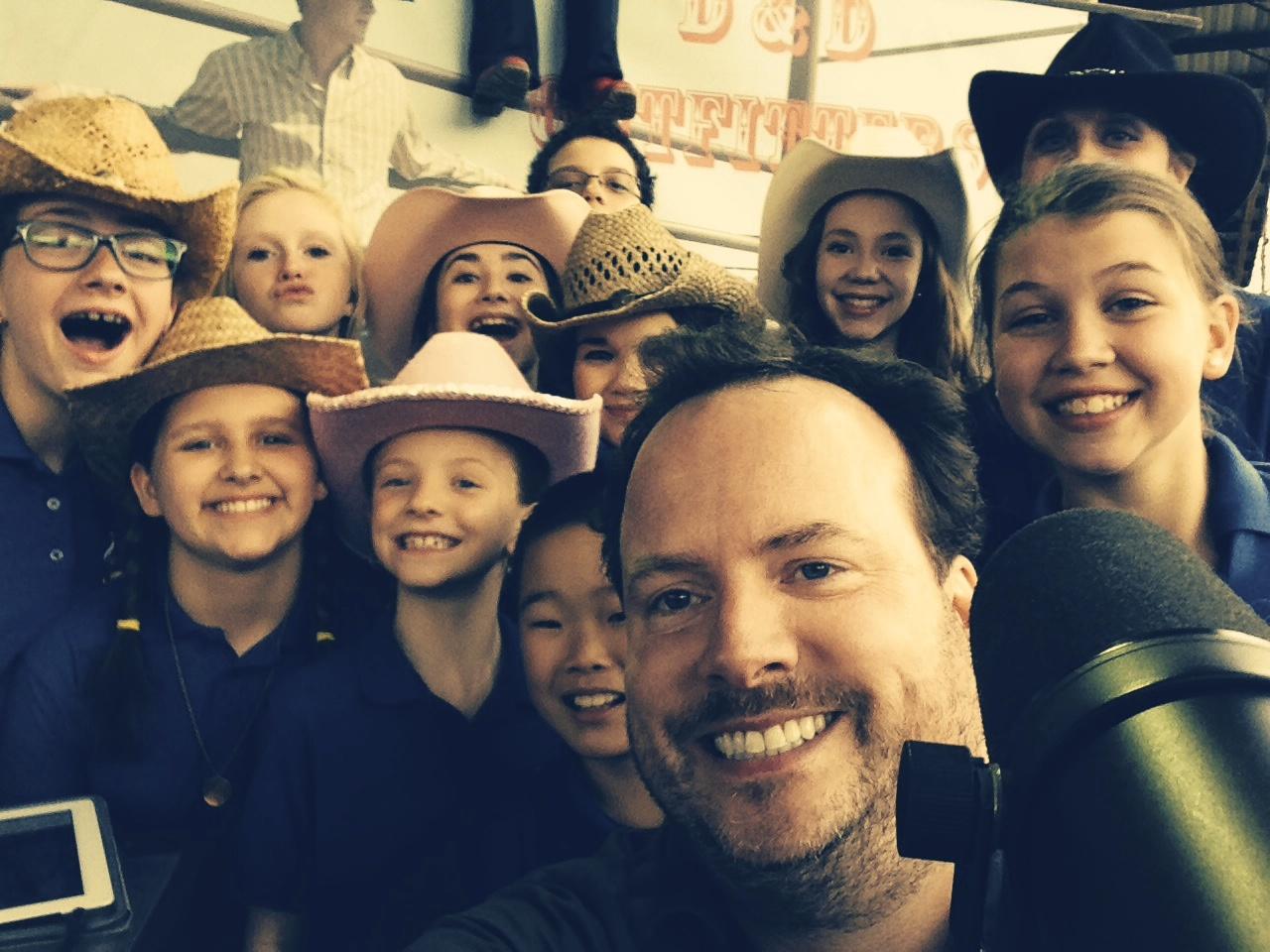 Post-singing-on-the-radio Selfie!