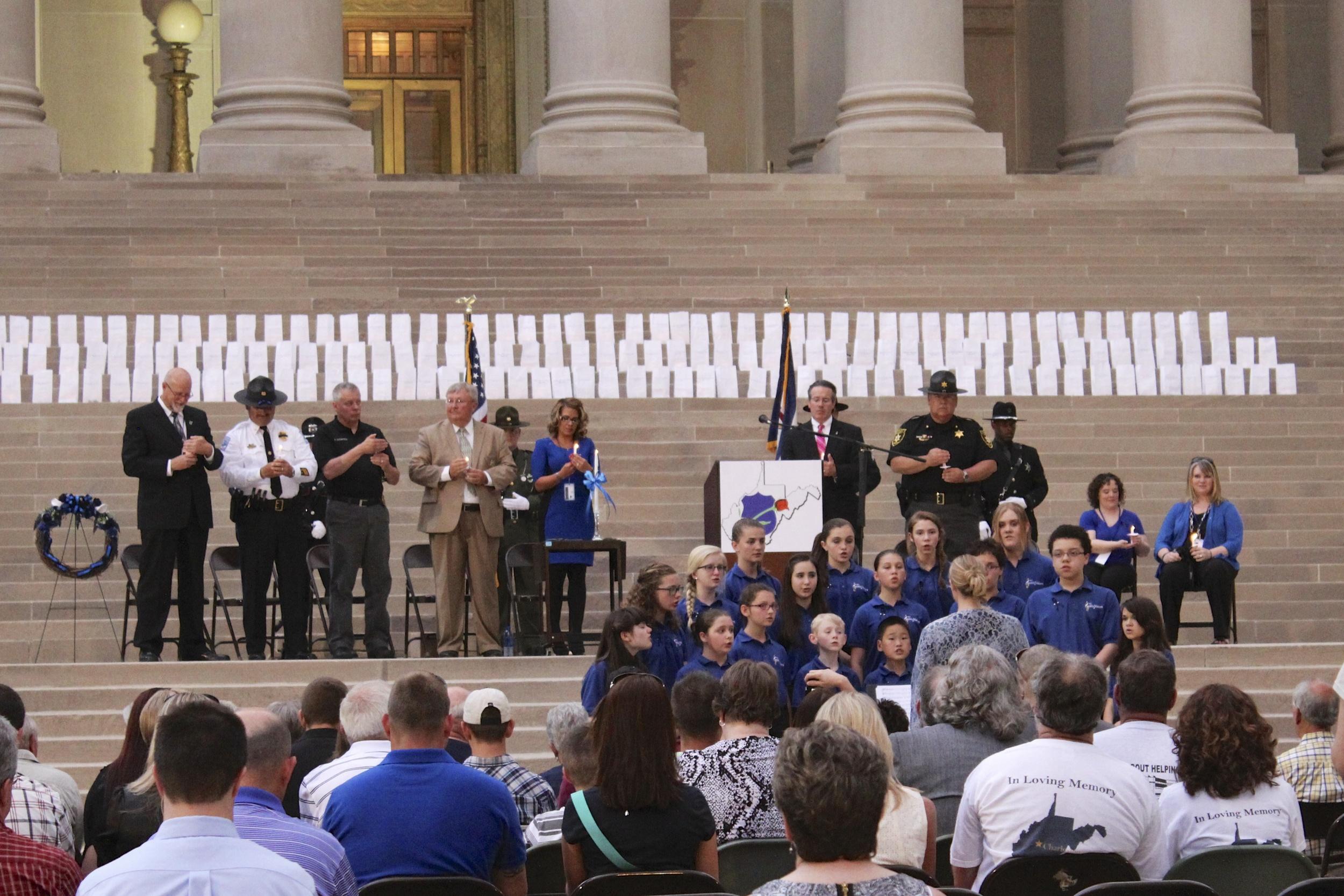 WV Fallen Police Officer Ceremony, WV State Capitol, 5/13/14