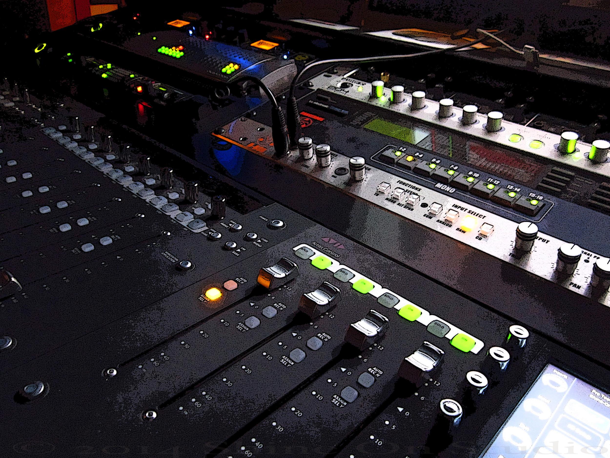 Shine On Studio • Malone Designs Euphonix Desk