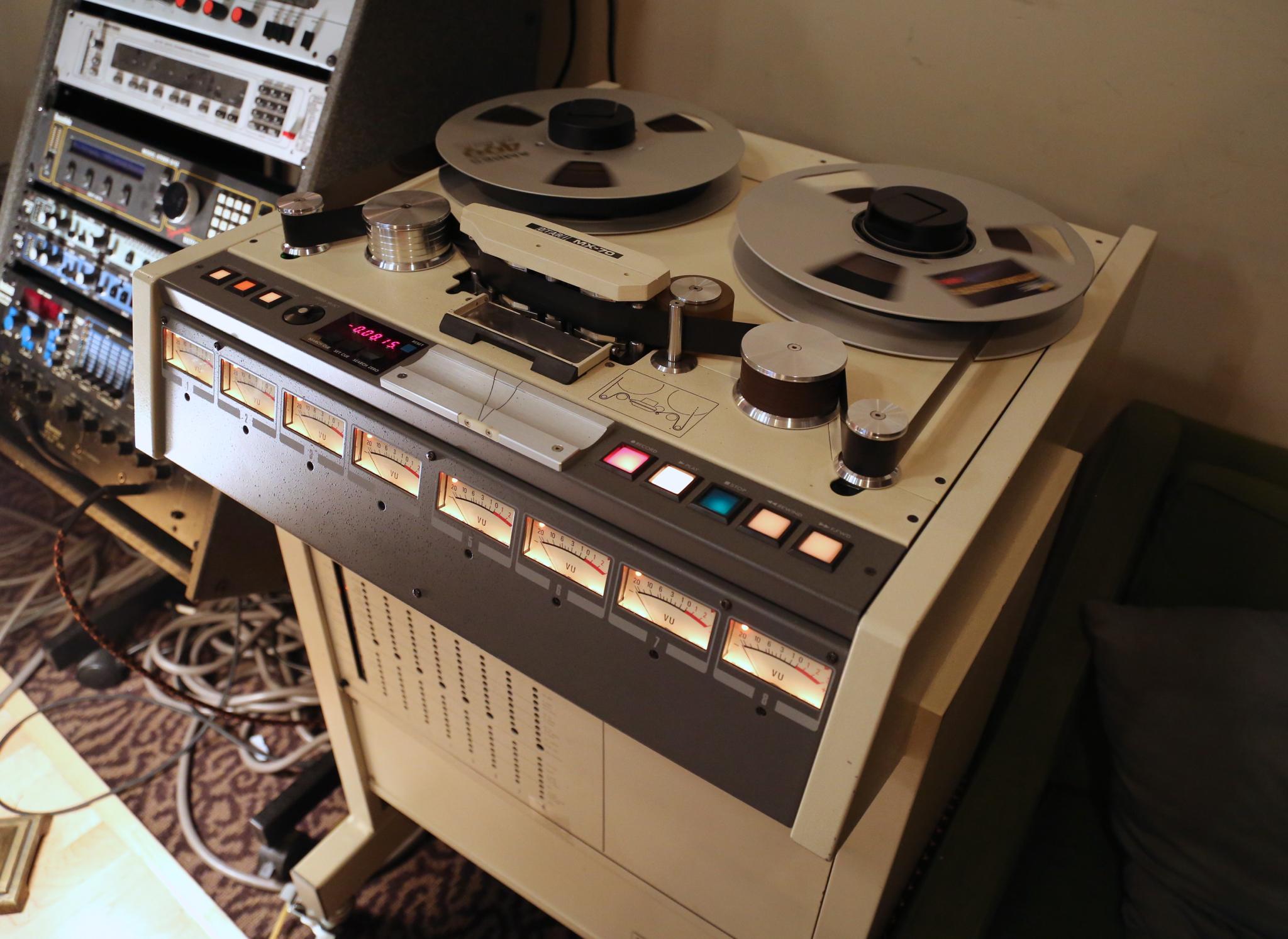 "1/2"" tape recorder"