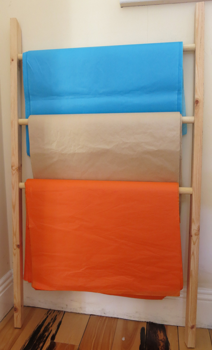 Storage Ladder for Tissue Paper