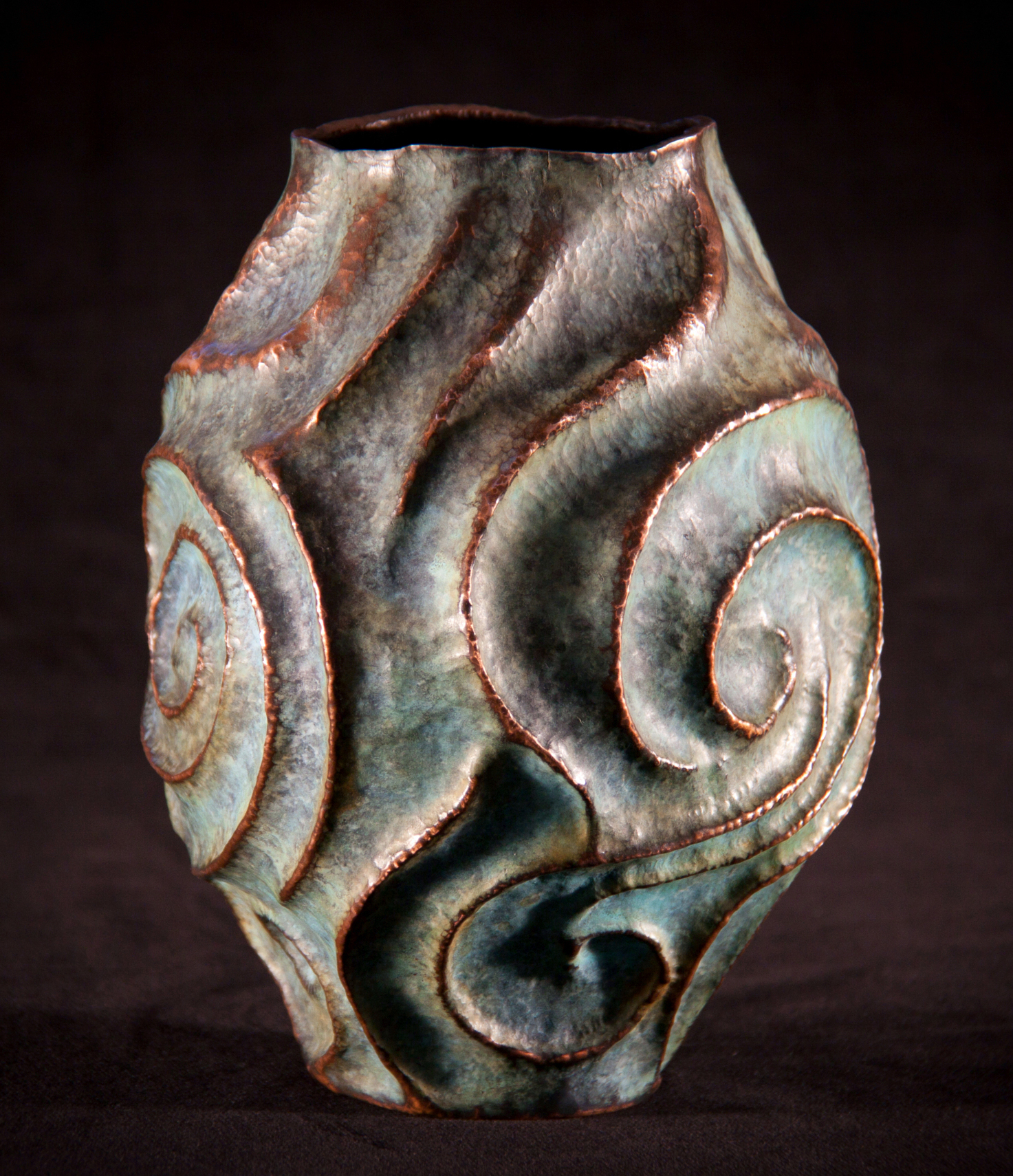 """Copper Vessel, """"From the Depths"""""""