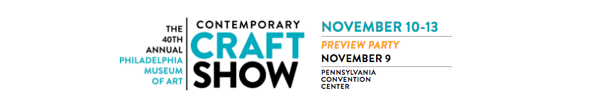 Nile Fahmy and Michelle Fahmy of Tattooed Tinker Studio will be displaying and selling their raised metal vessels at the 2016 Philadelphia Museum of Art Contemporary Craft Show in Philadelphia, PA.