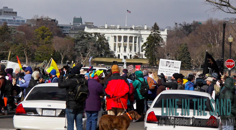 Climate Rally against the Keystone XL Pipeline, Washington D.C. Feb. 2nd, 2013.