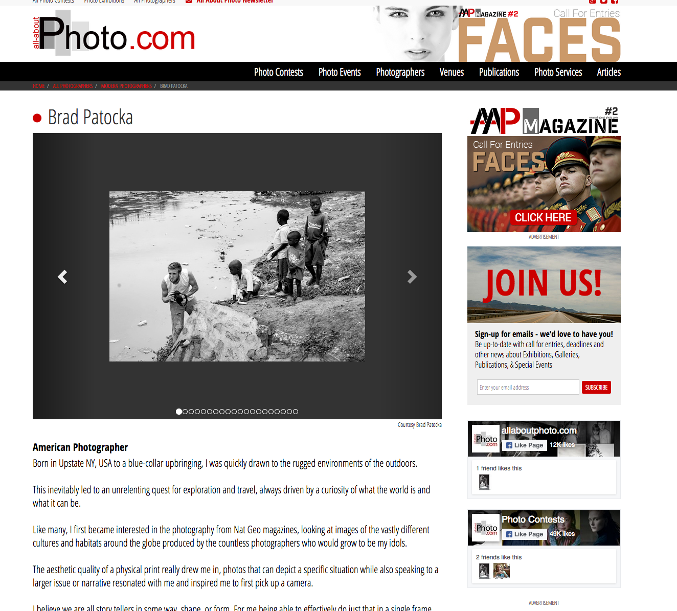 Featured Interview: All About Photo