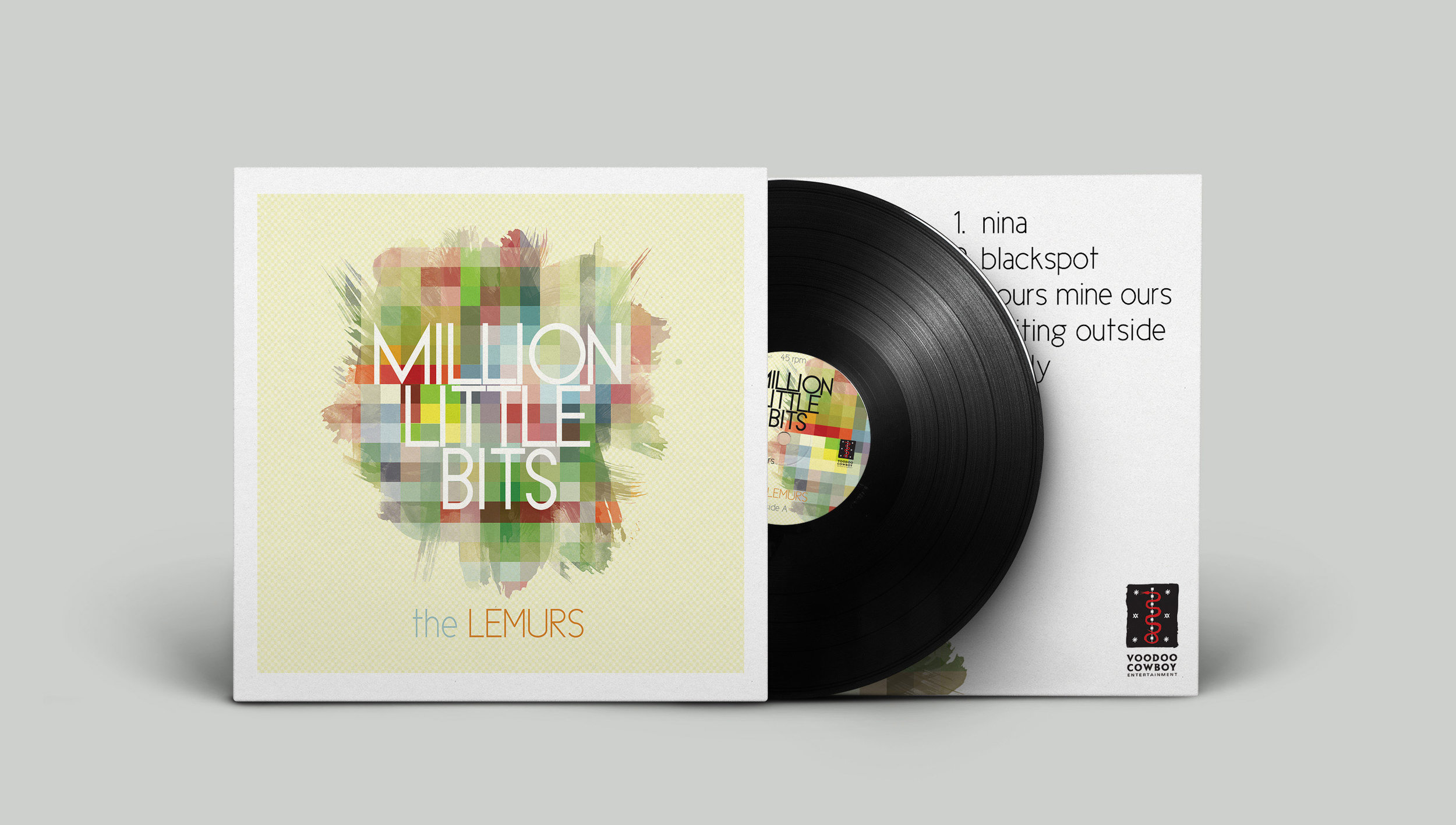 Million Little Bits  by the Lemurs -  buy it here