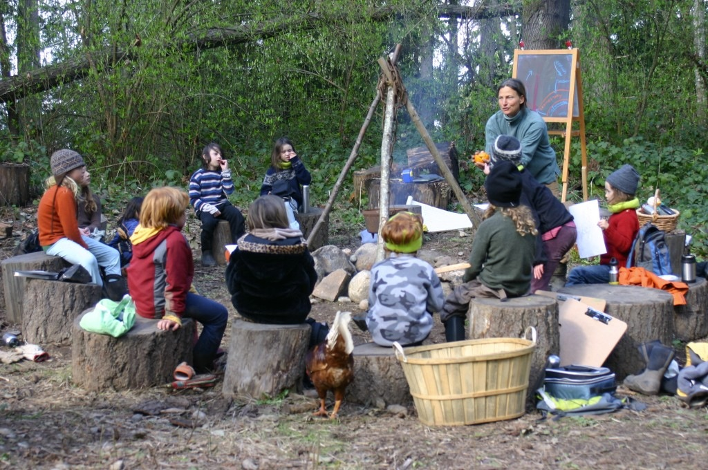 lessons around the fire circle