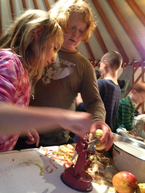 coring apples