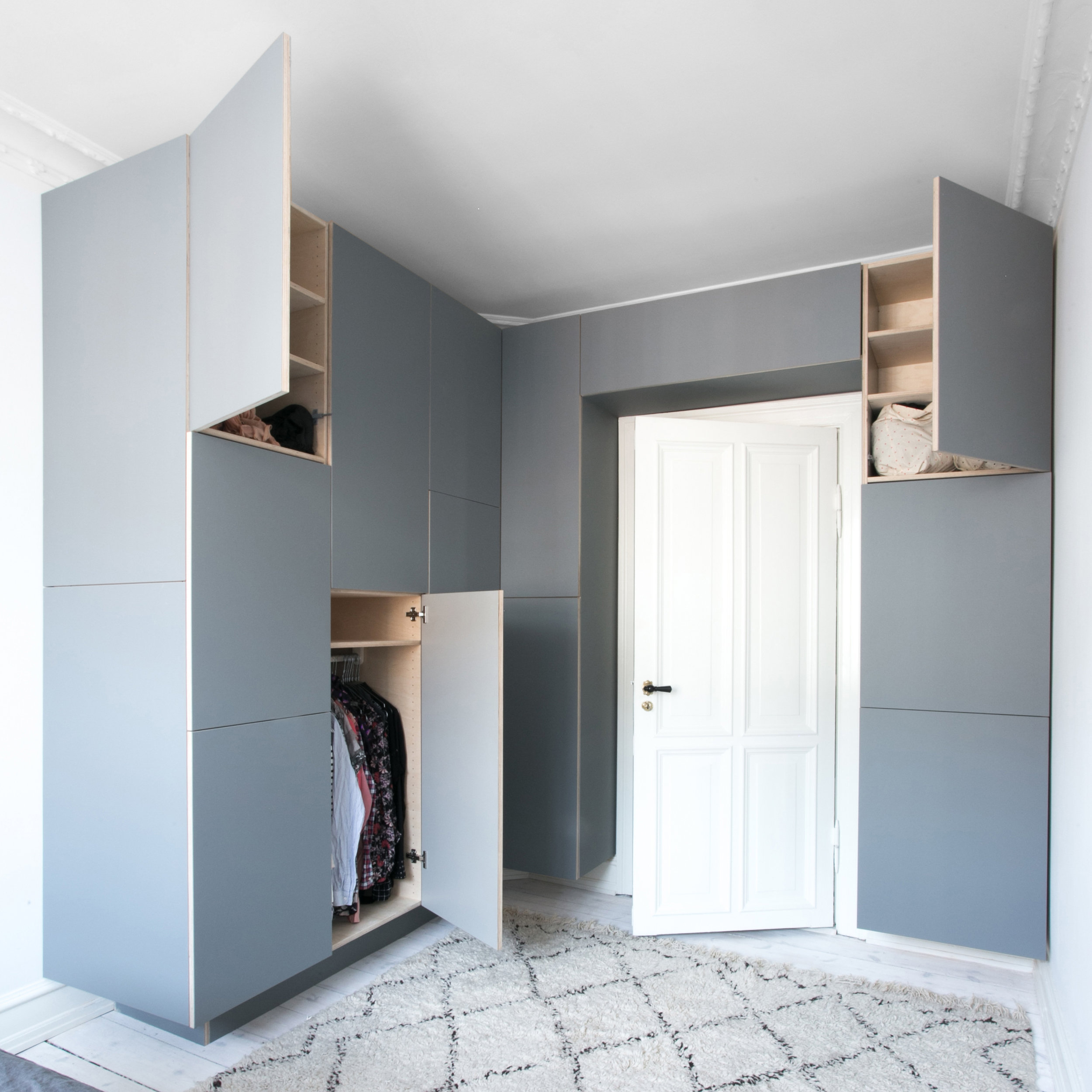 Indbygget garderobe
