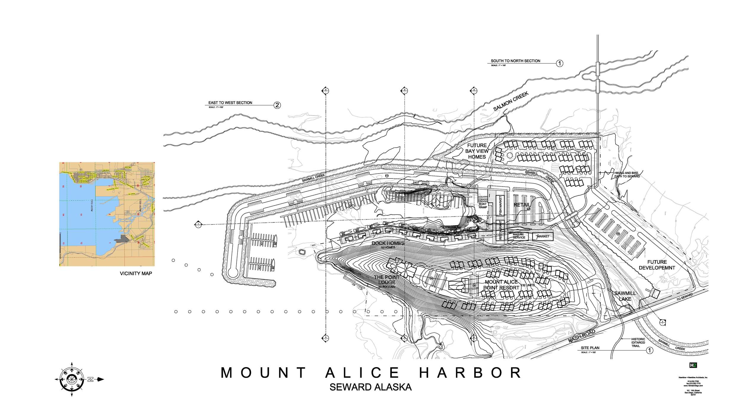 MOUNT ALICE HARBOR MASTER PLAN