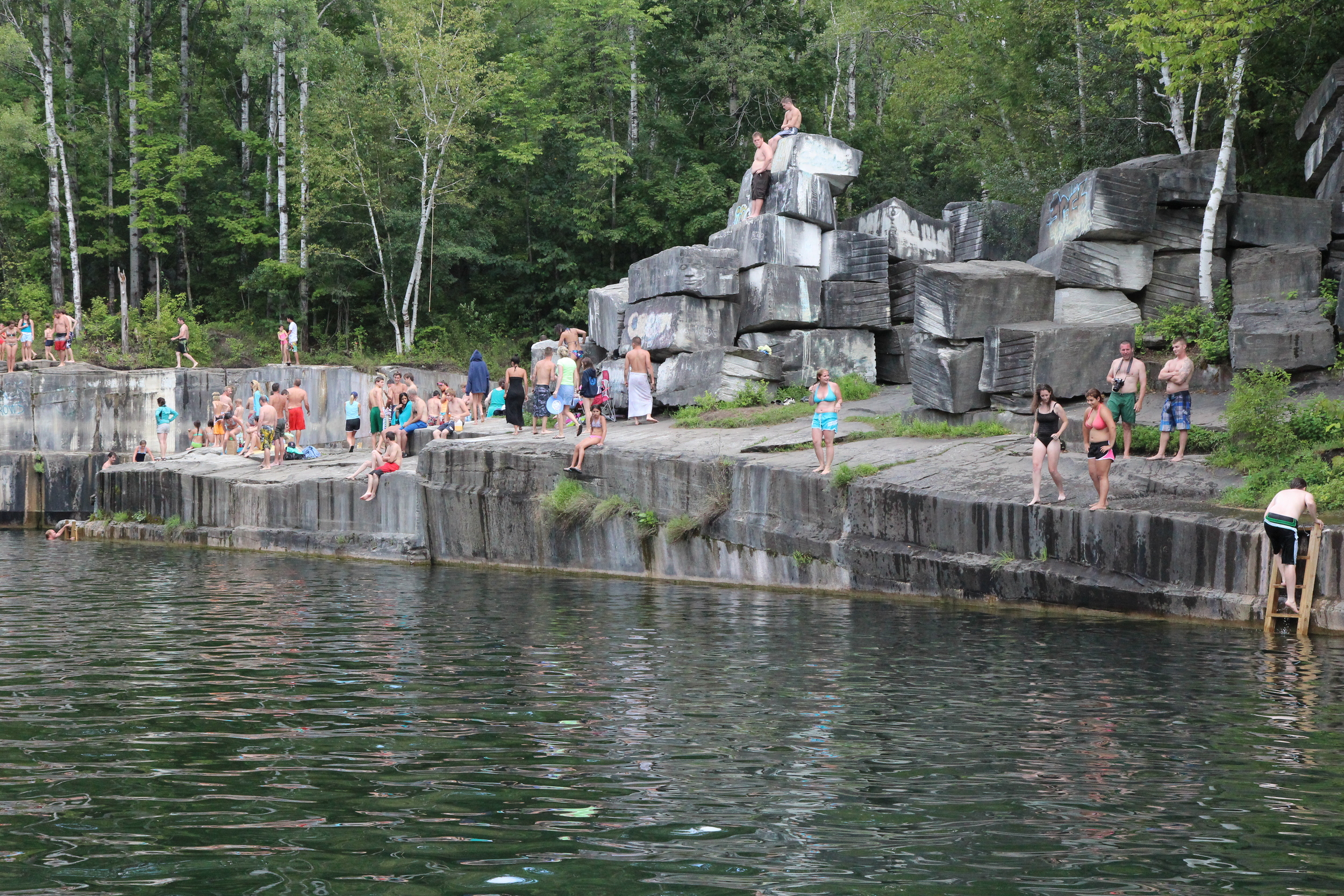 Summer at the Dorset Marble Quarry