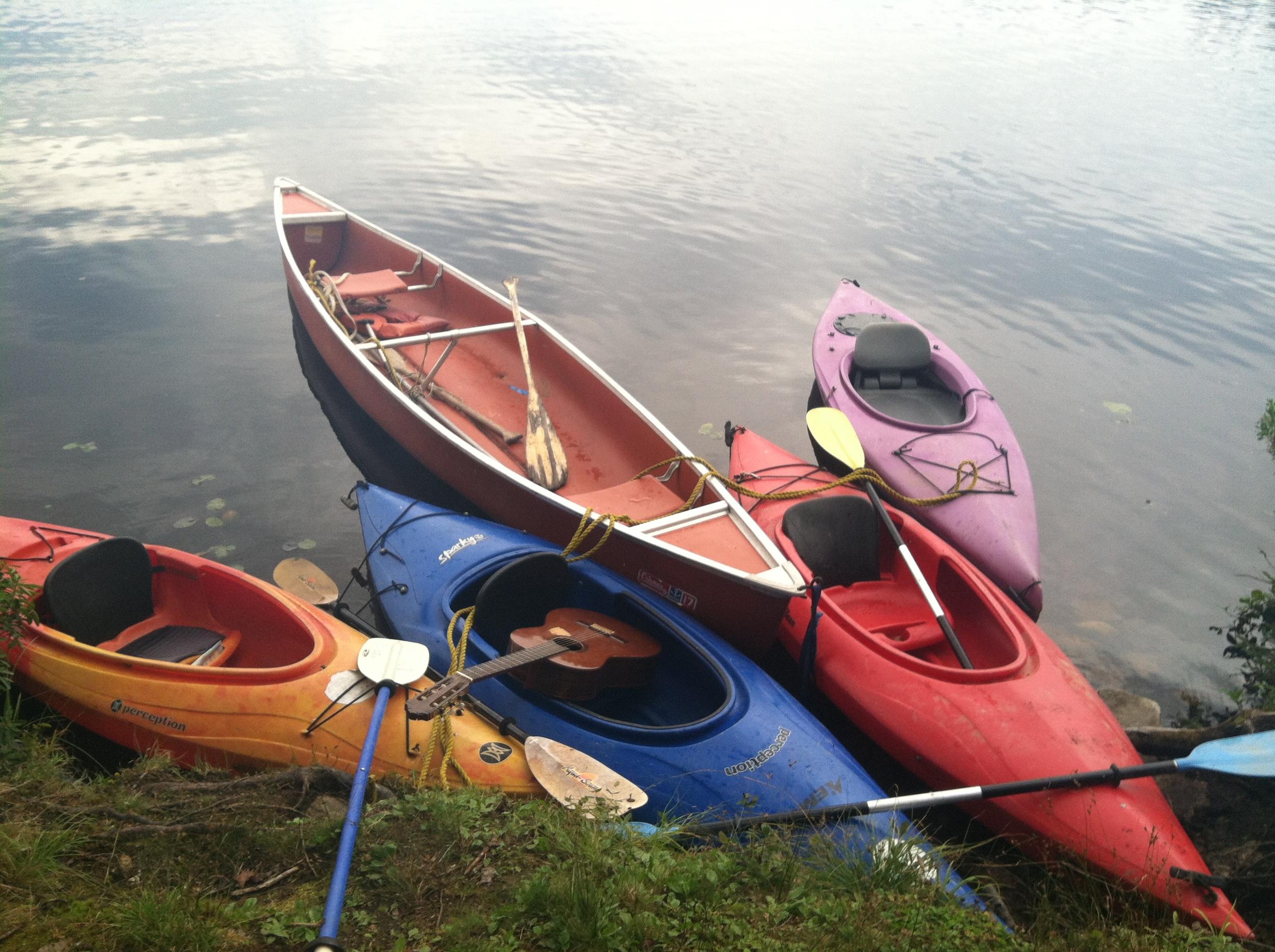 Kayaking in the Battenkill