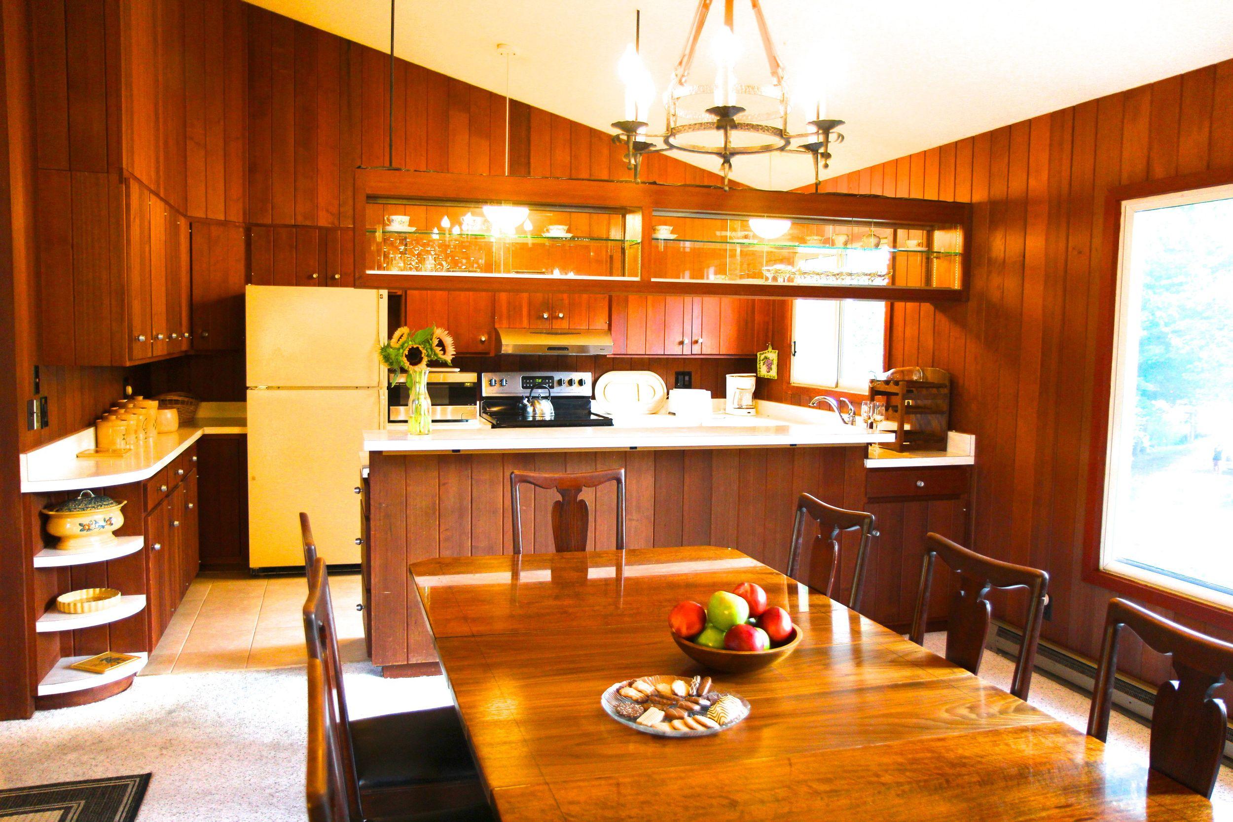 Kitchen, Green Mt. House