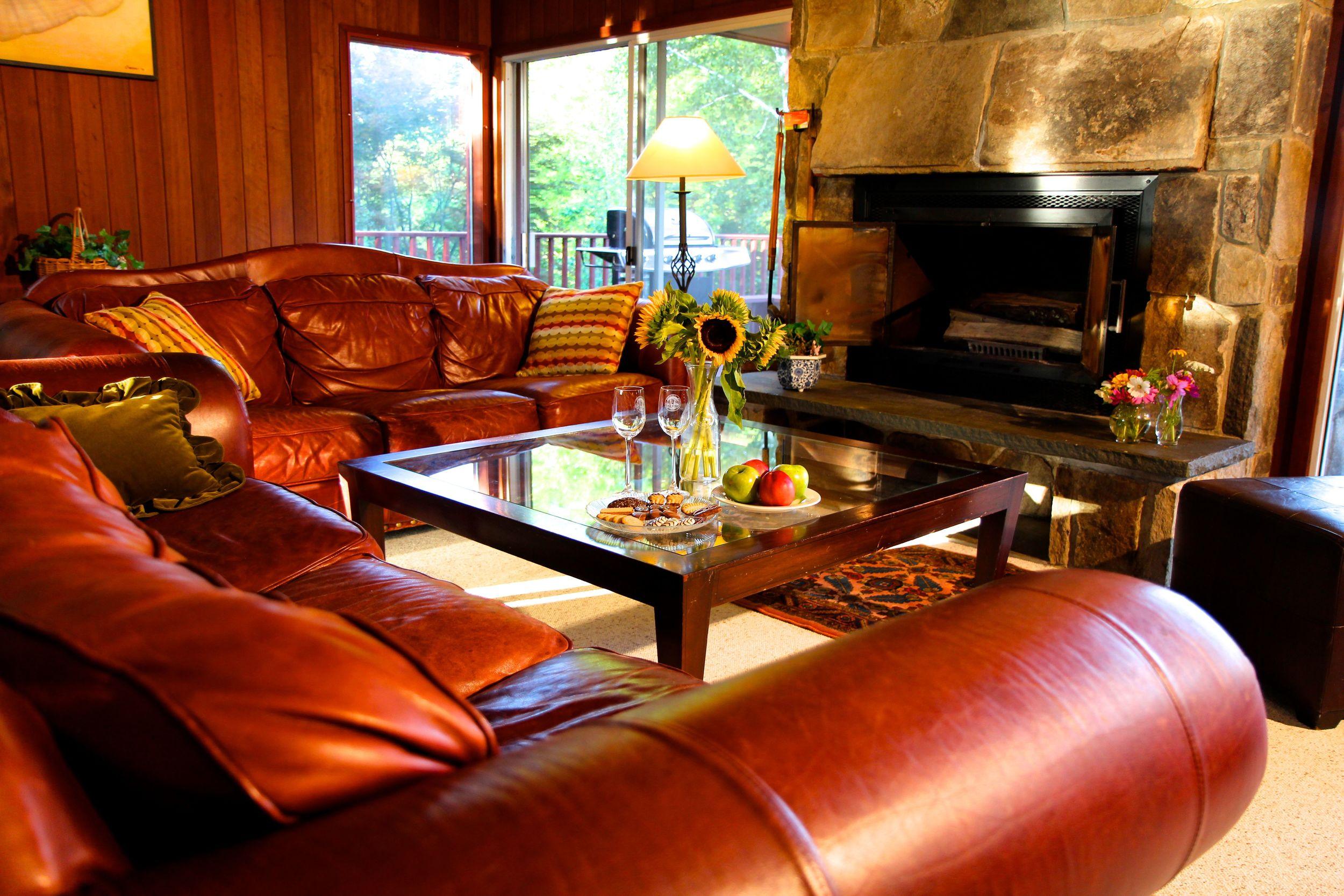 Living Room, Green Mt. House