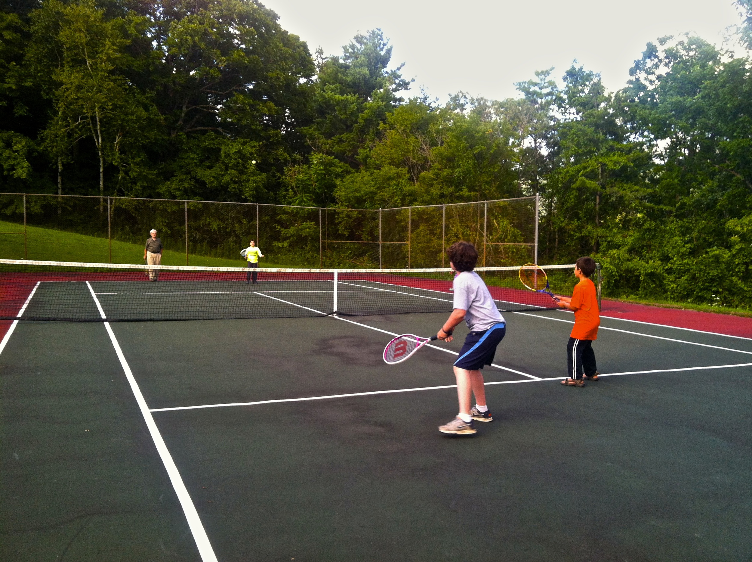 Tennis in the Green Mountains