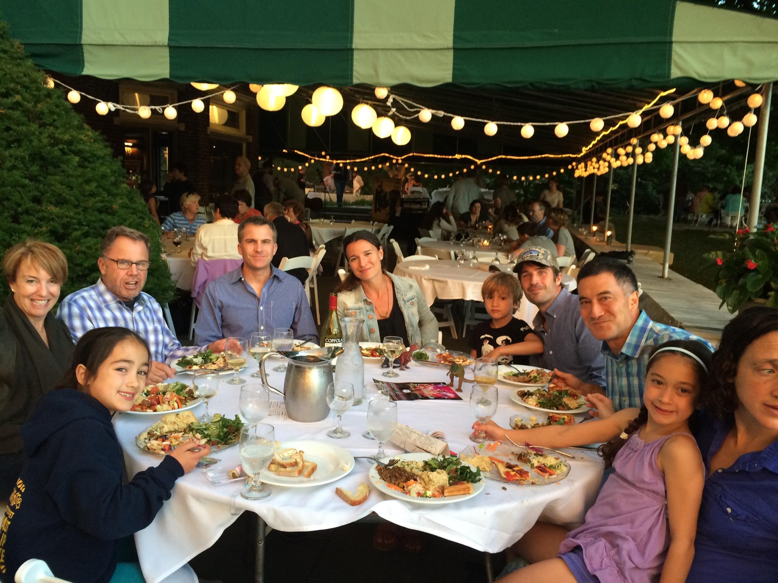 the farm night round table