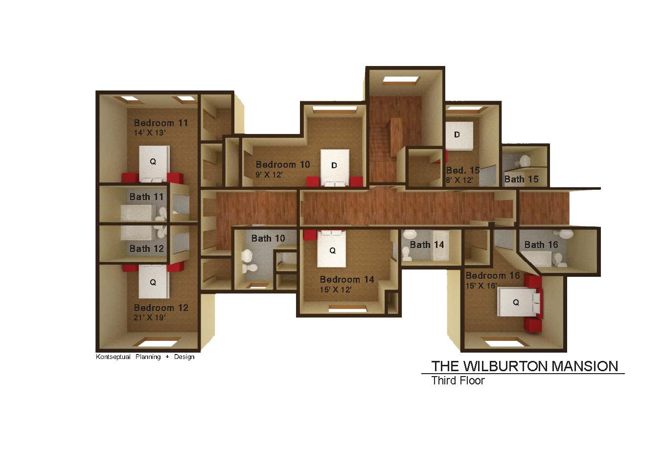 Wilburton-Mansion-Floorplans-3rd-Floor