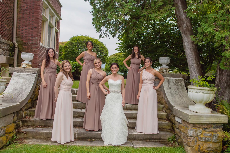 2 Grecian Bridesmaids on steps.jpg