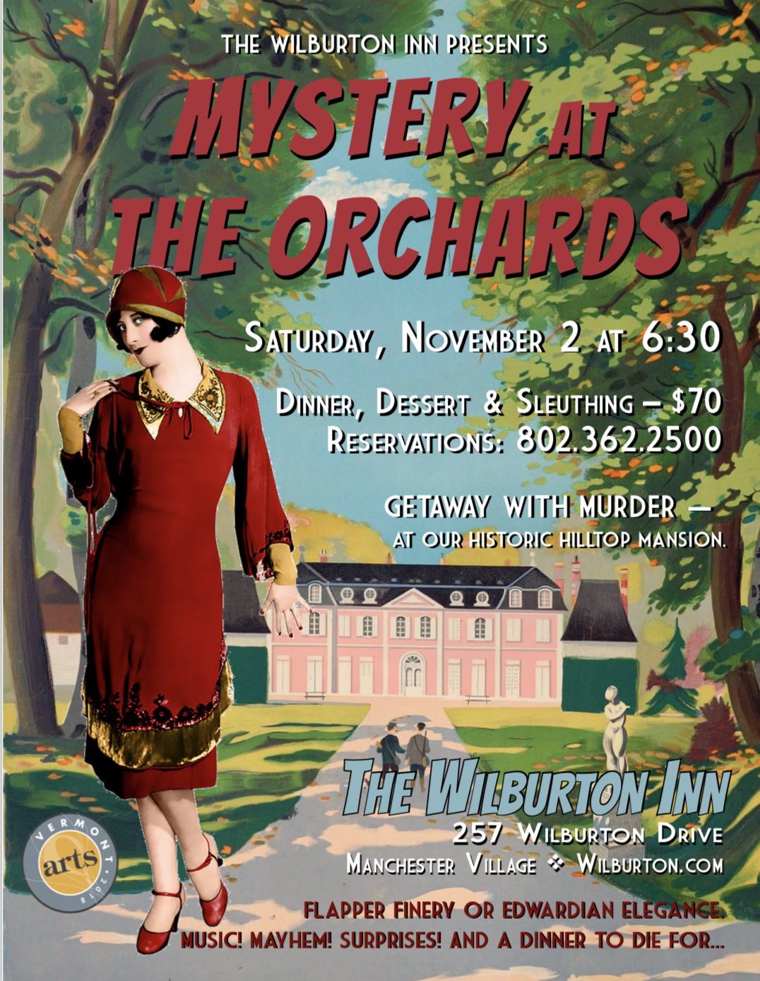Mystery at the Orchards, Fall 2019