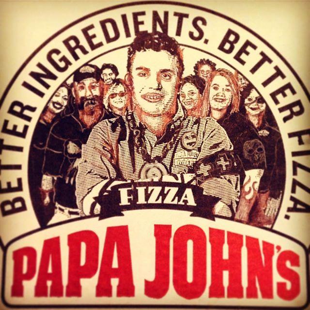 The only papa I've known #bastard #jkmom #papajohns
