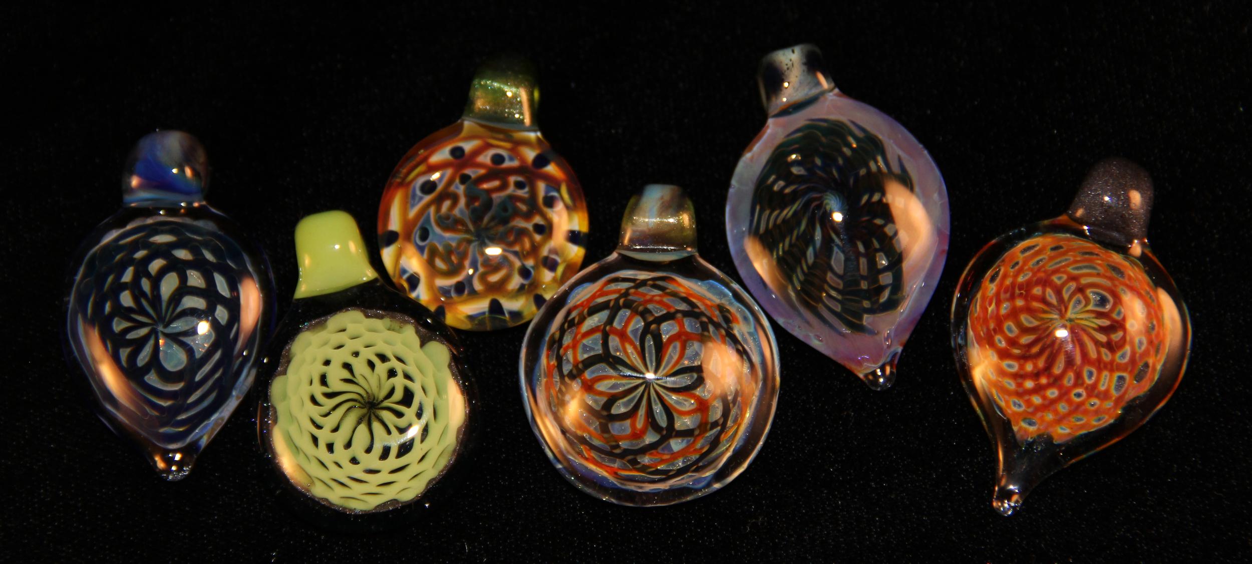 Recent pendants.