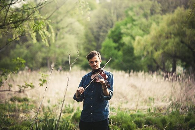 """Check out Bobby Britts's first solo album Alaya and pick up a fresh new copy on cassette from the shop. *** """" With his mastery of double-stop grooves and rollicking and melodic fiddling, Britt is a big part of Town Mountain's honky-tonk bluegrass sound. On this solo album, however, he gets to explore both his bluegrass and old-time inlfuences and what he calls """"Experimental Roots Fiddle"""" - Bluegrass Unlimited ***"""