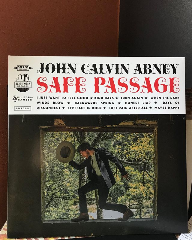 Skillet fillin' this Sunday with @johncalvinabney 's new peaceful transmission. #nowspinning #safepassage #ijustwanttofeelgood