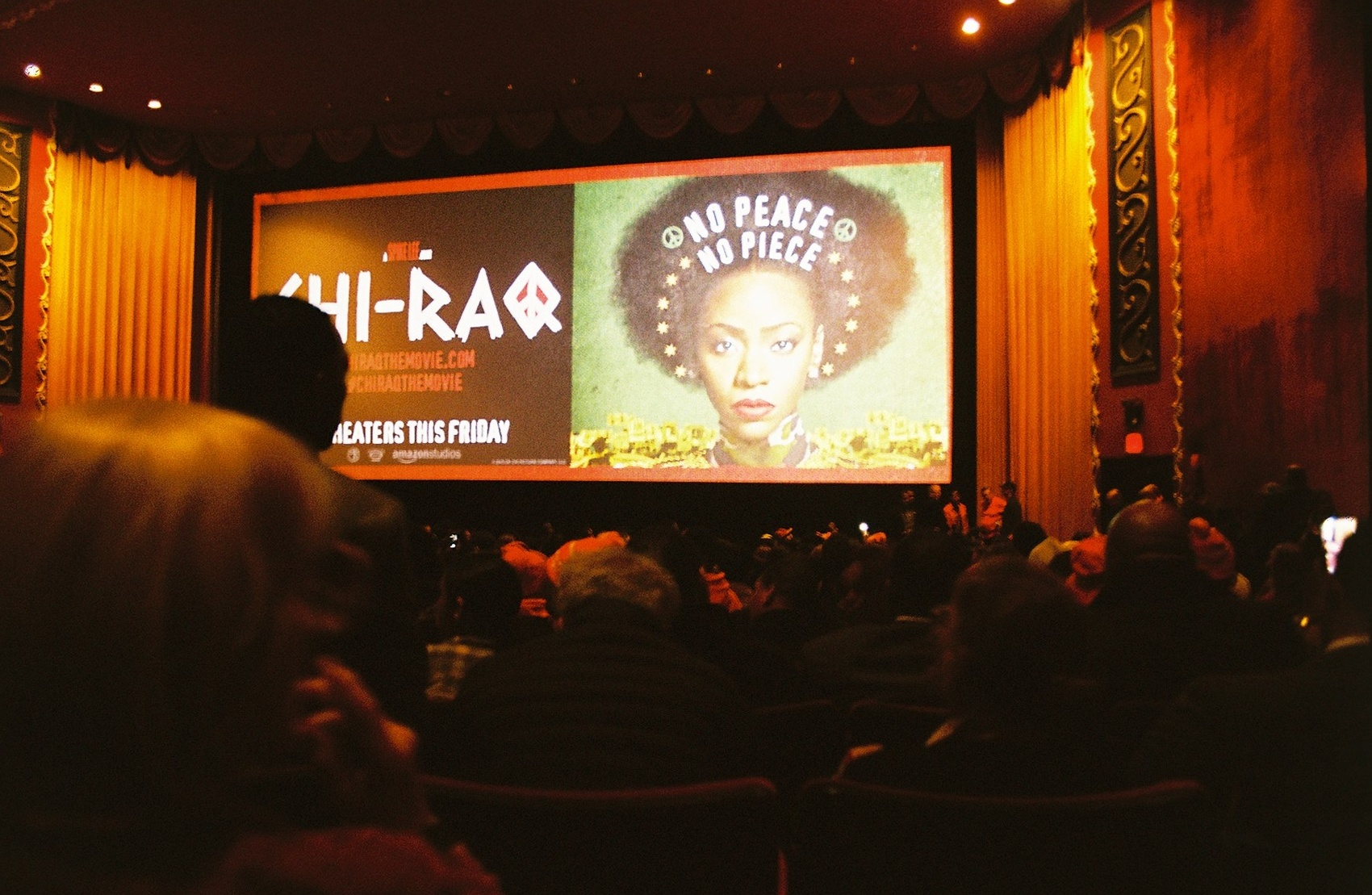 """The premiere of Spike Lee's newest film, """"Chi-Raq"""" at the Ziegfeld Theater."""