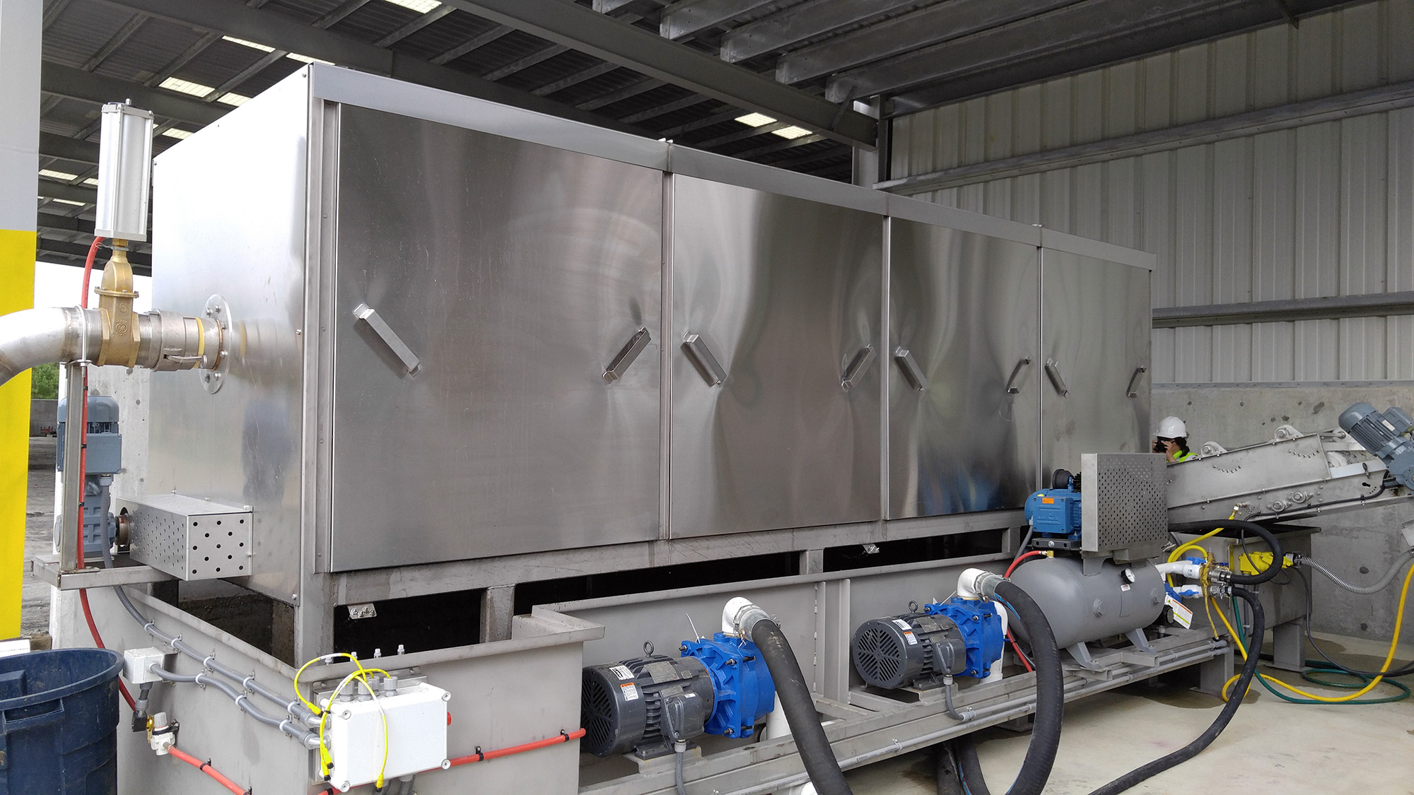 Patent Pending Mark IV Wet Waste Separator (WWS)