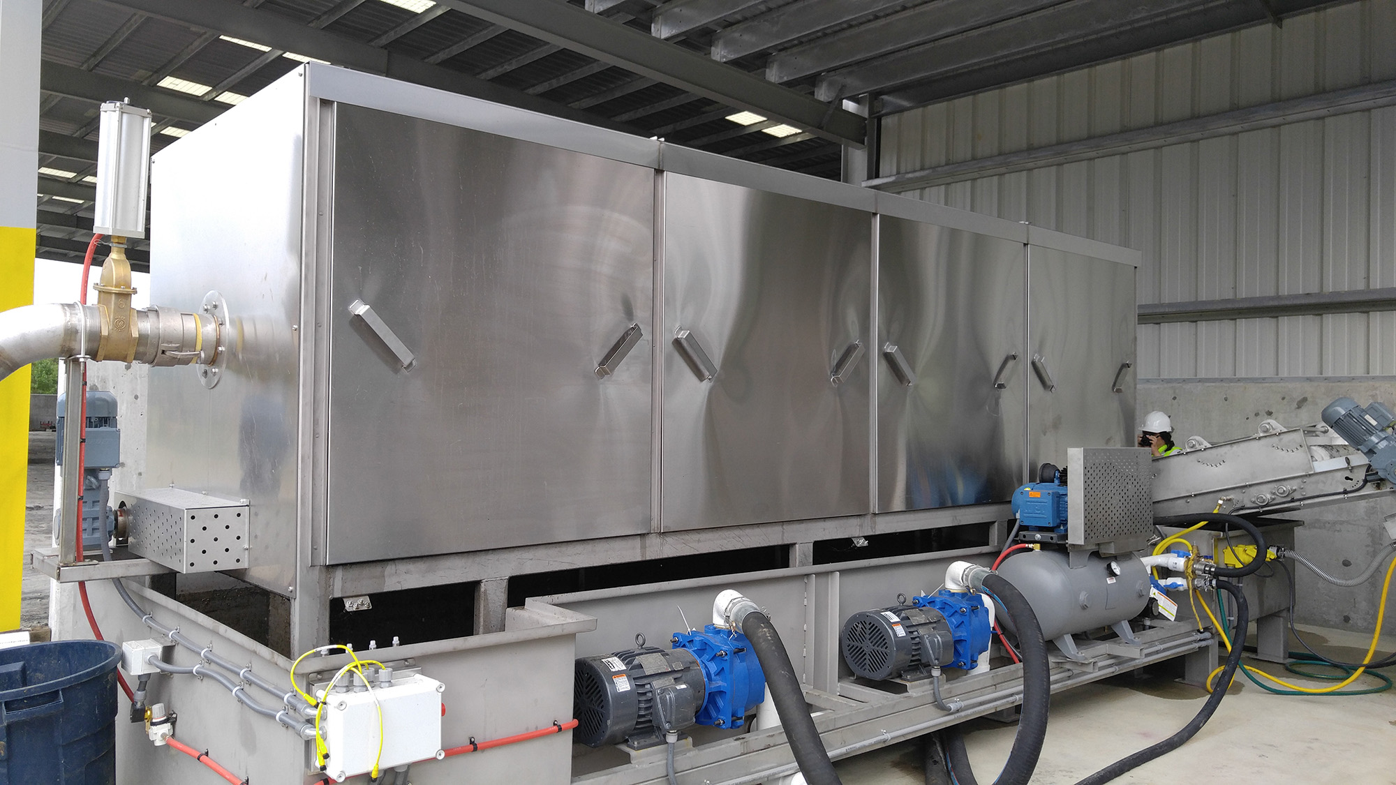 Patent Pending OLE Mark IV Wet Waste Separator (WWS)