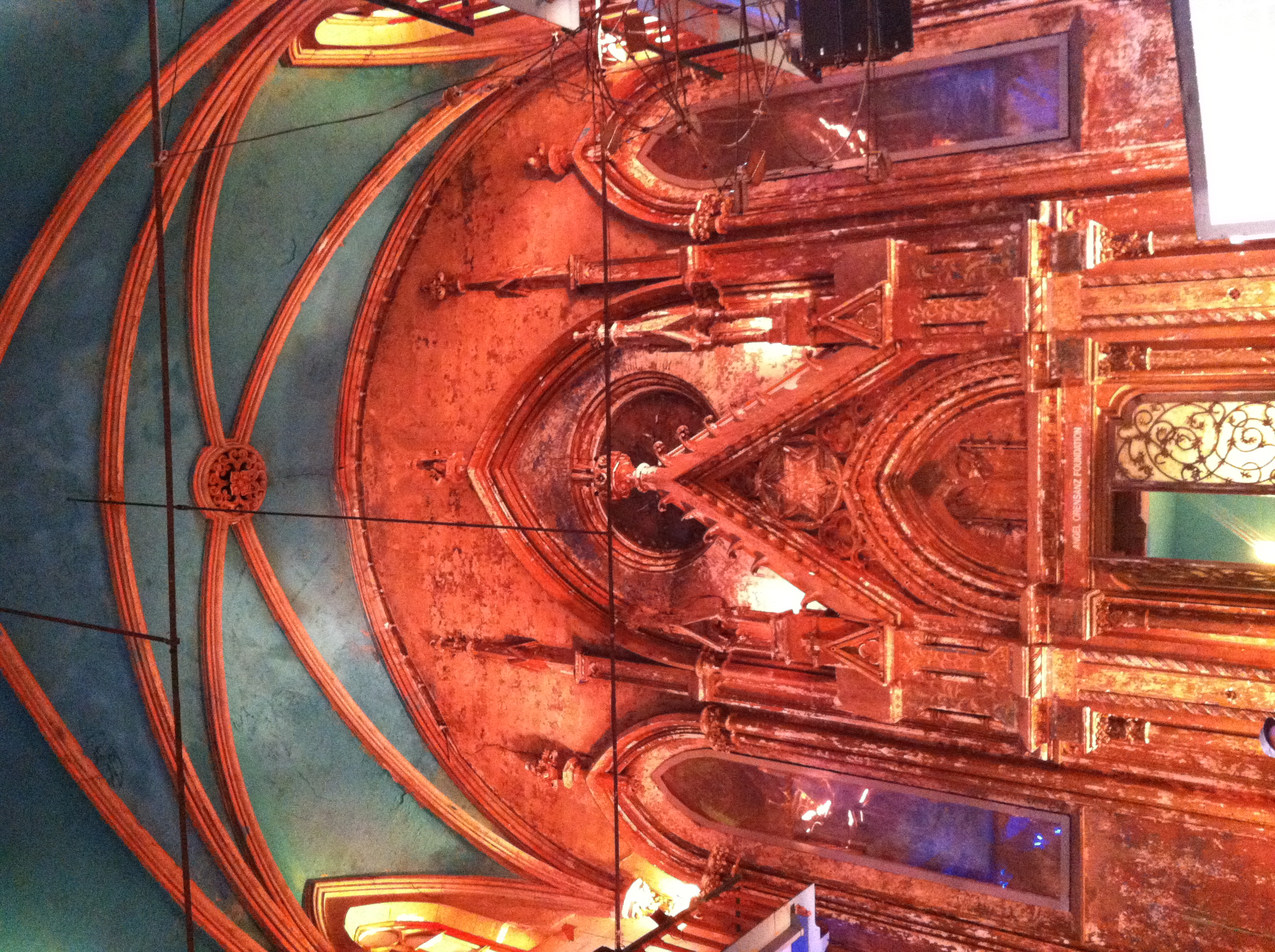 The magical interior of the Angel Orensanz building in the LES