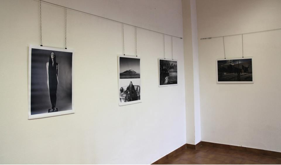 """Diptych, """"Key Mount V"""" on display in Cagliari, Italy. (Middle Left)"""