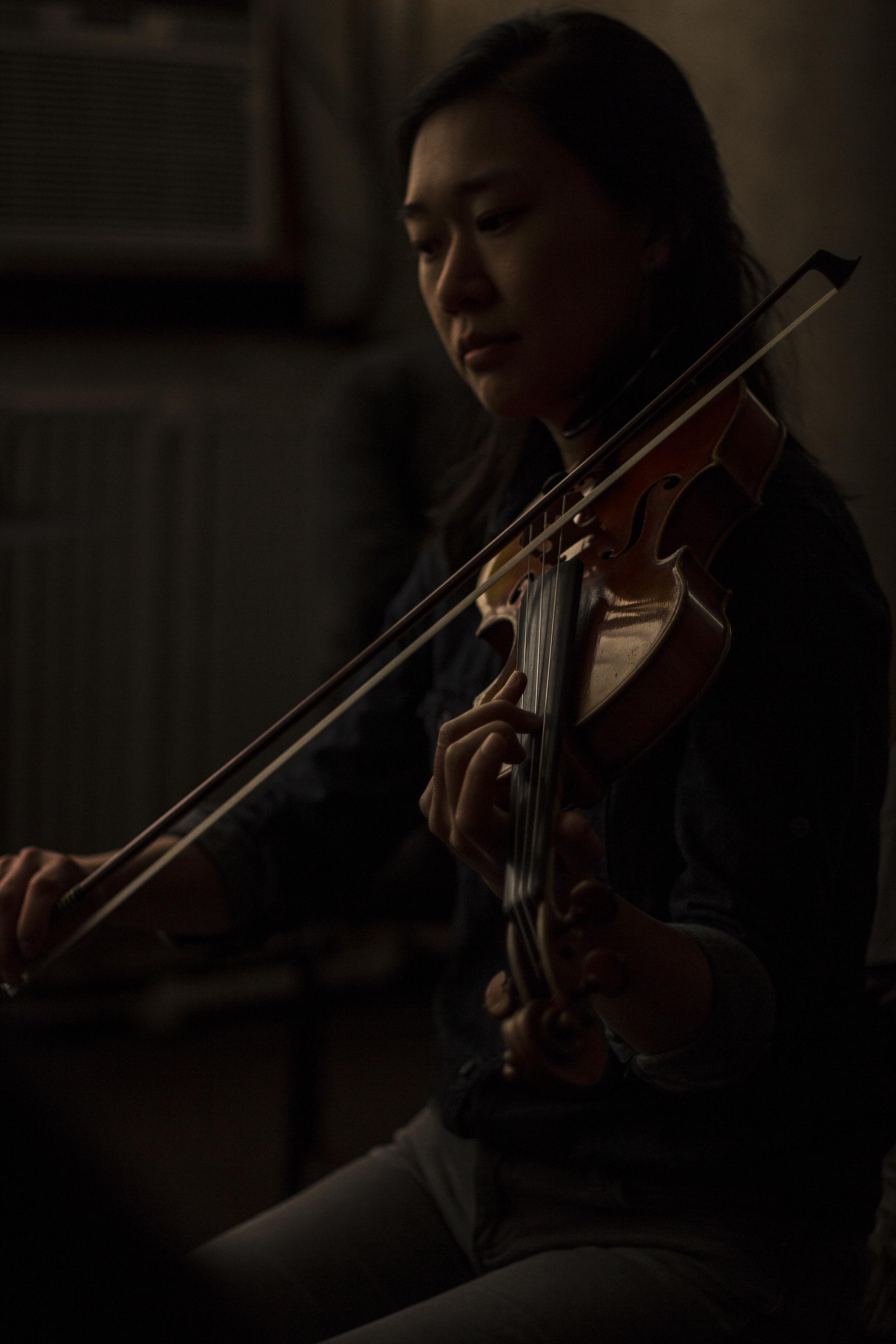 Yvonne Lam, violin, eighth blackbird
