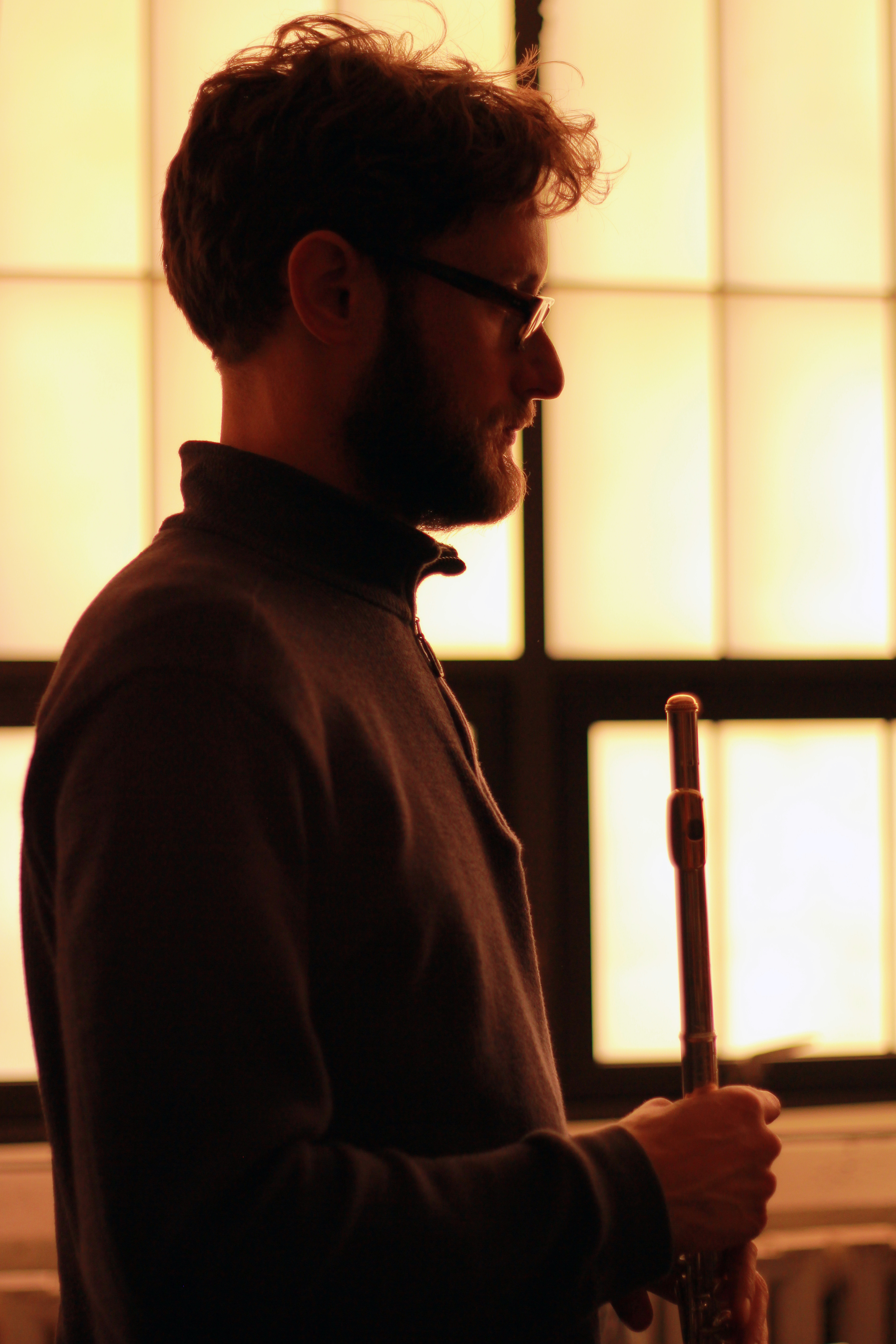Tim Munro, flute, eighth blackbird
