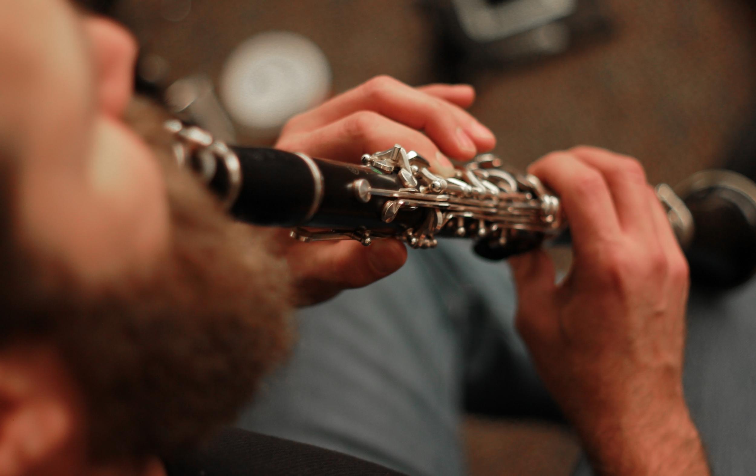 Michael Maccafarri, clarinet,eighth blackbird