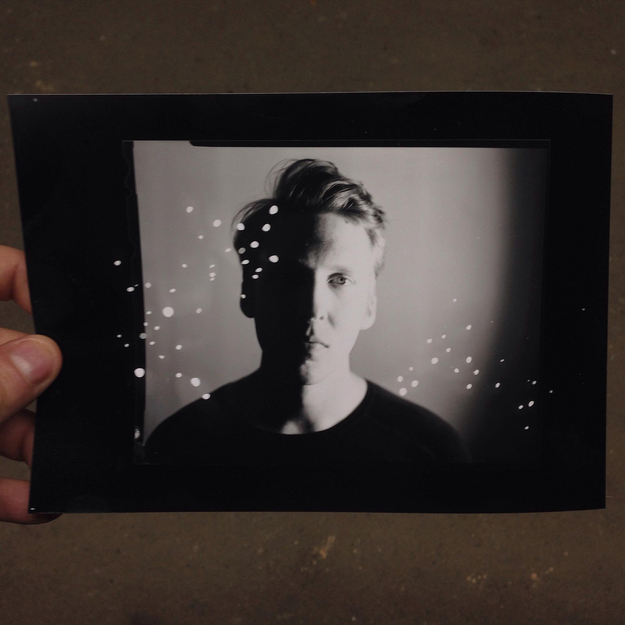 darkroom technique, silver gelatin print from 4x5