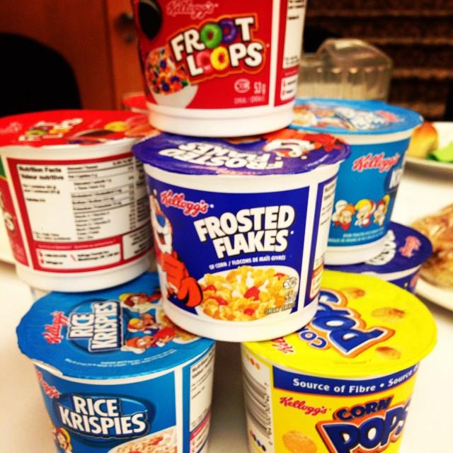 Every kid's dream breakie! #yummy #gourmetstyle