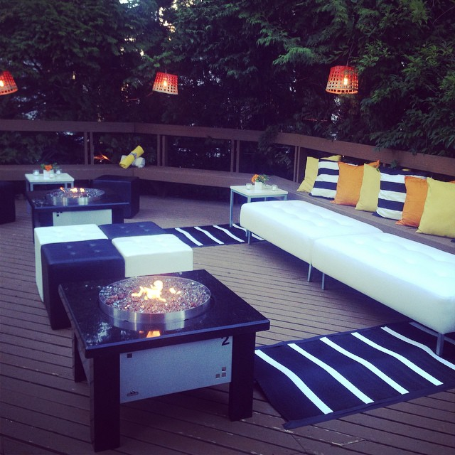 Cosy little lounge for a fun little bash tonight! #foreversummer #bashandfete