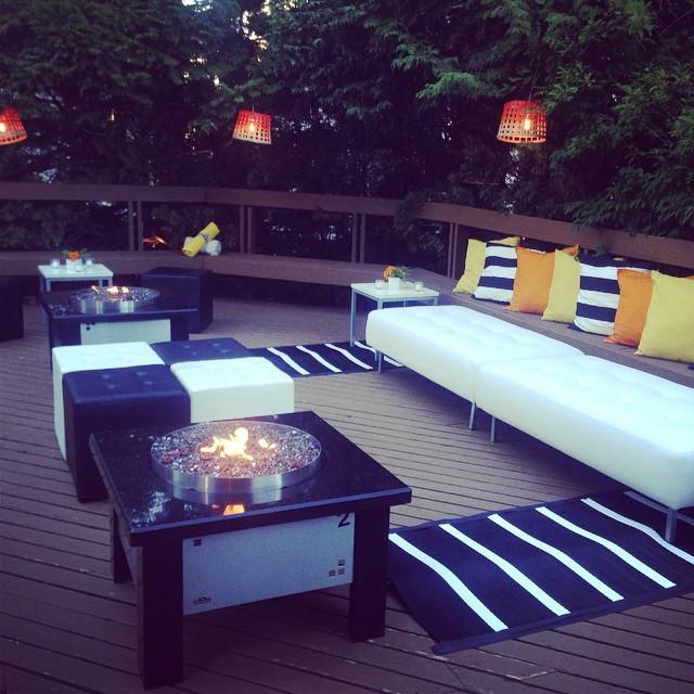 Cosy little lounge for a fun little bash tonight! #foreversummer #bashandfete